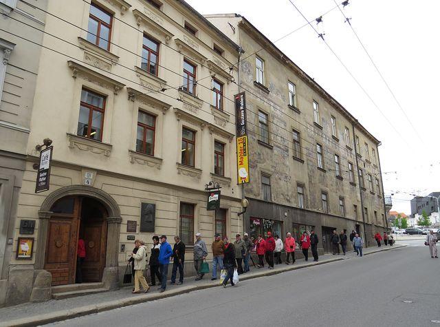 Dům Gustava Mahlera ve Znojemské ulici v Jihlavě