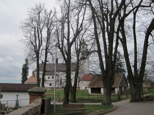 od roku 1714 je netínský kostel poutním místem