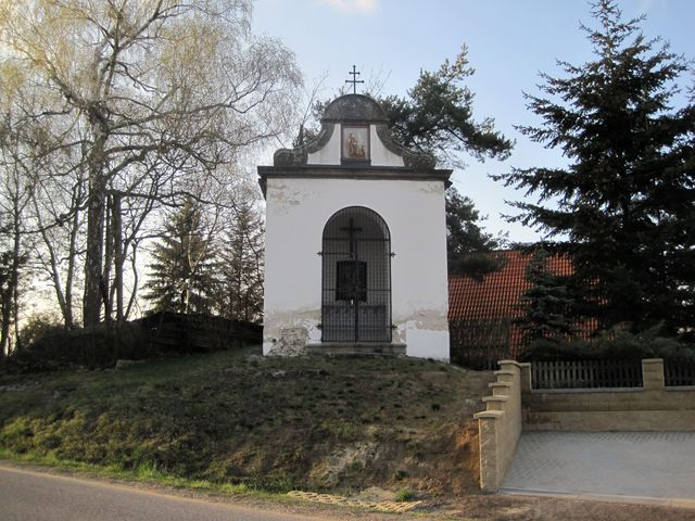 kaple sv. Cyrila a Metoděje nad městem