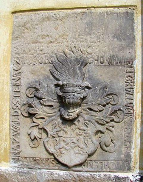 náhrobní kámen některého ze sourozenců pozdějšího vévody