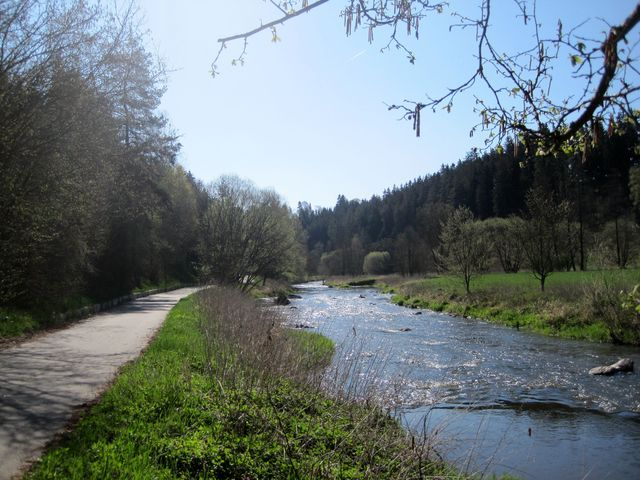 stříbrná řeka Jihlava; www.svatosi.cz