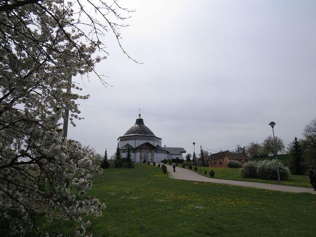kostel vysvěcený v roce 2002