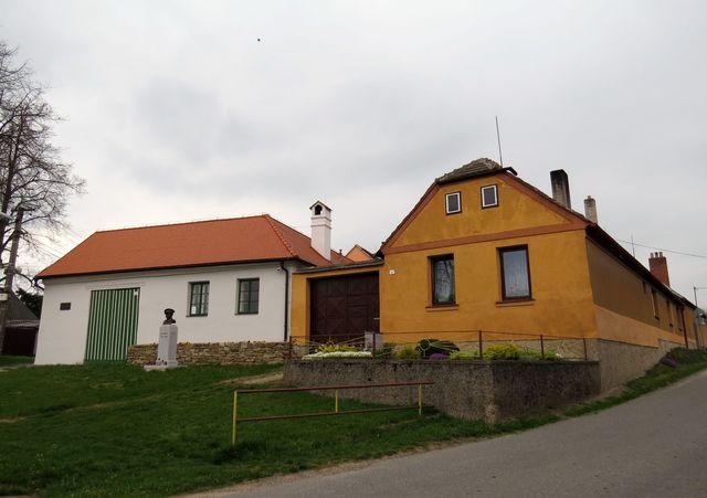 rodný dům Jana Kubiše v Dolních Vilémovicích