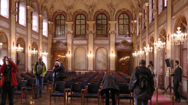 v 17. století byl tento sál po Španělském sále Pražského hradu největší v Praze; foto FJ