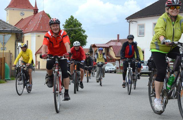 s dobrou náladou na trasy k Jihlavě; foto Jan Černo