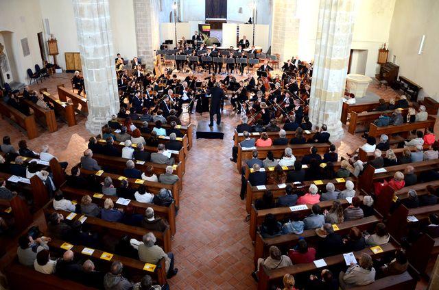 zahajovací koncert festivalu Mahler Jihlava v kostele Povýšení sv. Kříže