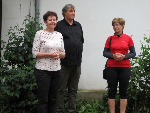 zleva Jana Černá, Pavel Kutiš a Ivana Svobodová