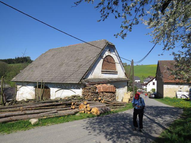 tradiční lidová architektura v Javorku