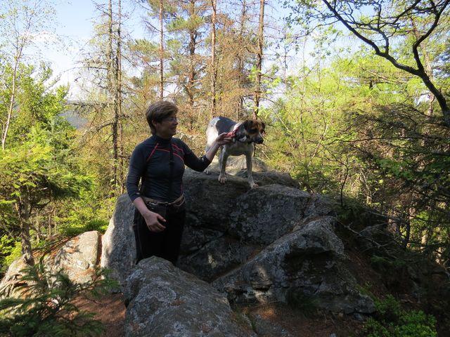 turistický pes Adina na Prosičce