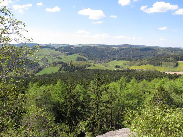 charakteristická krajina Žďárských vrchů