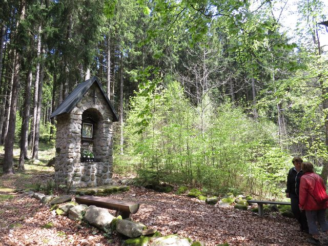kaplička u osady Na Louži