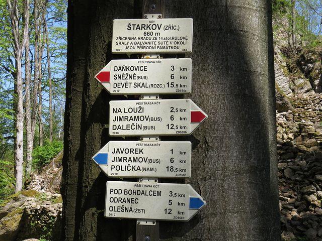 turistické informační místo na Štarkově