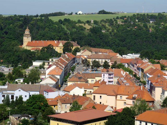 historické jádro města pochází ze 13. století