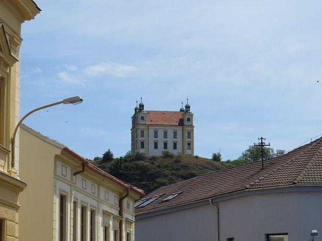 poutní kaple na vrchu Floriánek nad Moravským Krumlovem