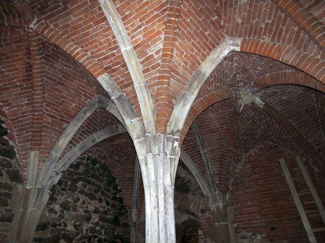 podzemní prostory kláštera Rosa coeli