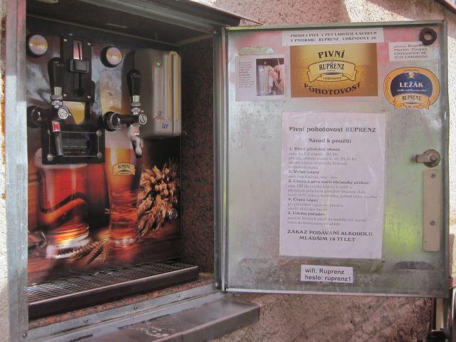 pivní pohotovost v Uhřínovicích