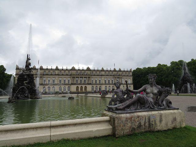 vzorem pro stavbu byl francouzský zámek ve Vesailles