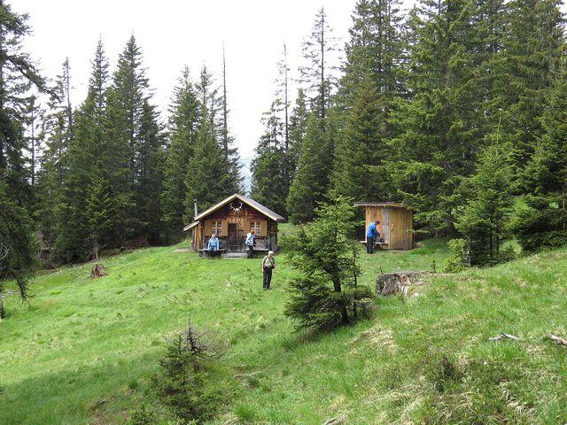 Pleishütte je ve výšce 1 690 metrů