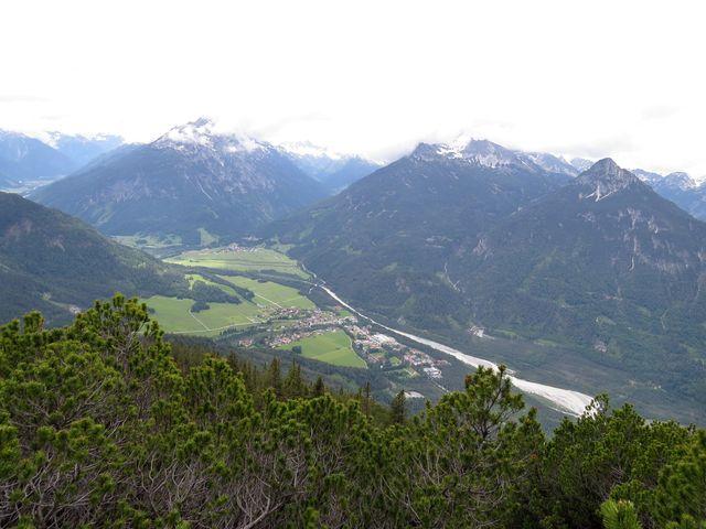 Lechtal - vesnice Stanzach