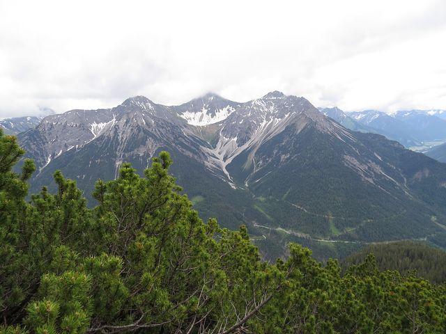 výhled na Allgäuské Alpy