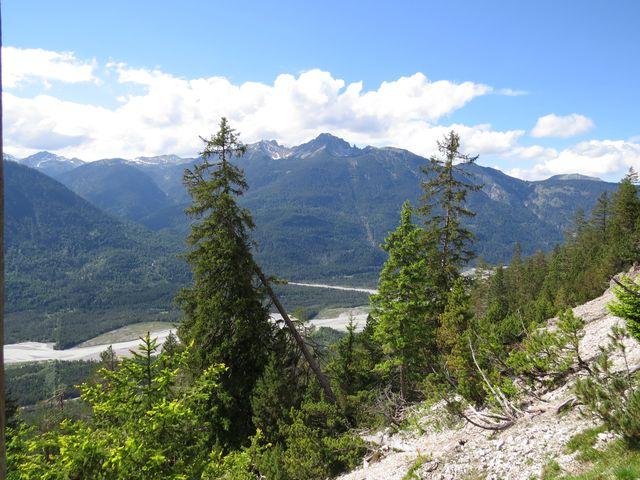 výhledy na Allgäuské Alpy