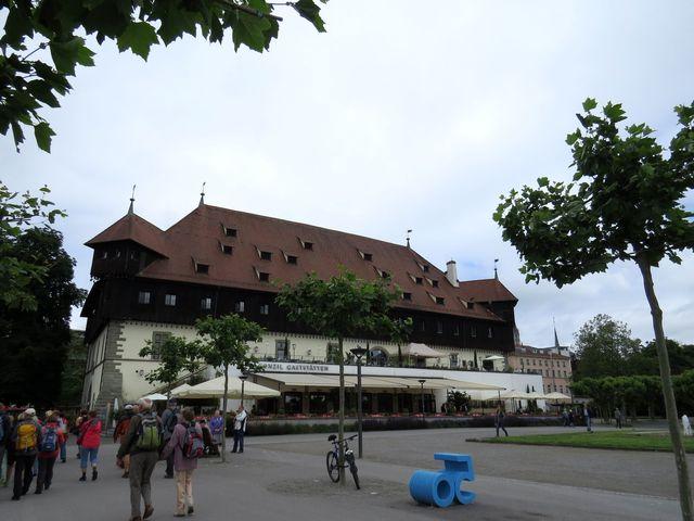 budova koncilu v kostnickém přístavu
