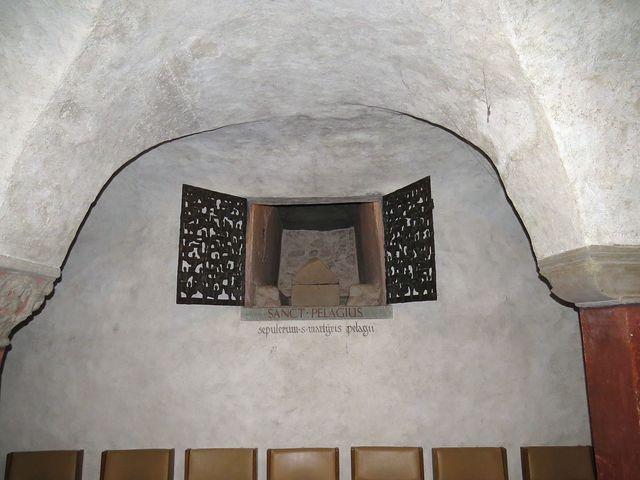 ostatky sv. Pelagia