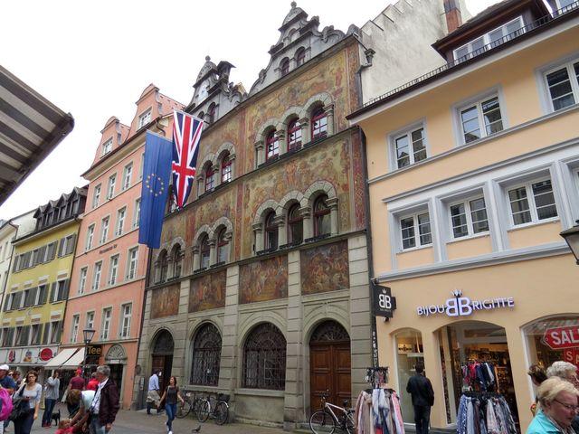 radnice s renesančními freskami