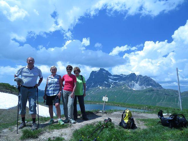 užíváme si poslední odpoledne v Alpách