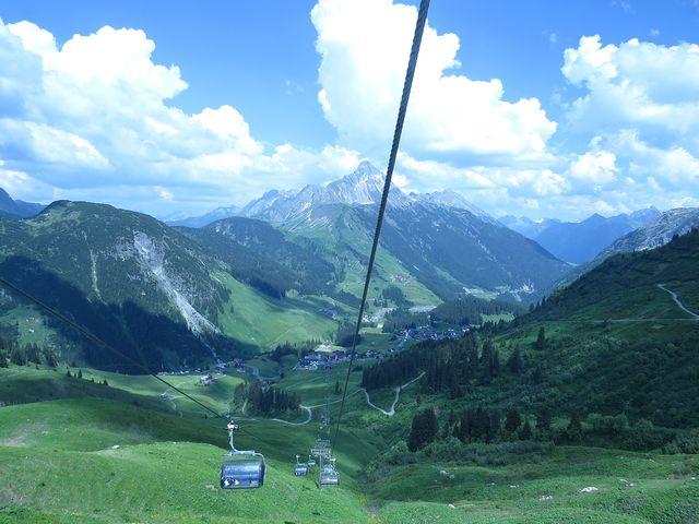 slavné horské středisko Warth