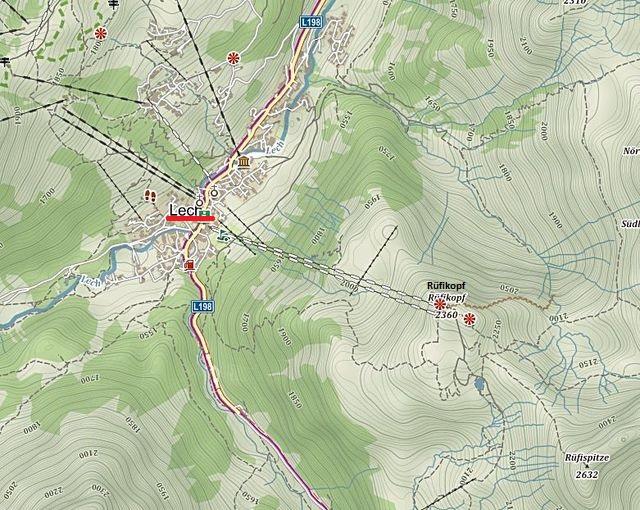 lanovkou z Lechu na Rüfikopf 24.6.2016