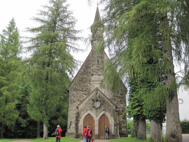 na tomto místě stával kostel už v 8. století