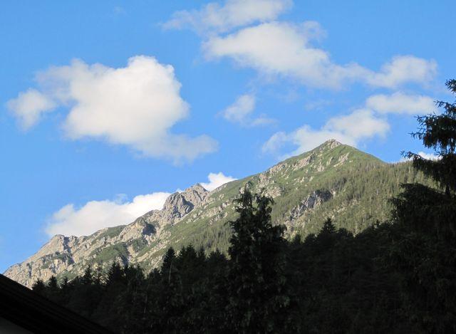 Pleisspitze ve večerním slunci