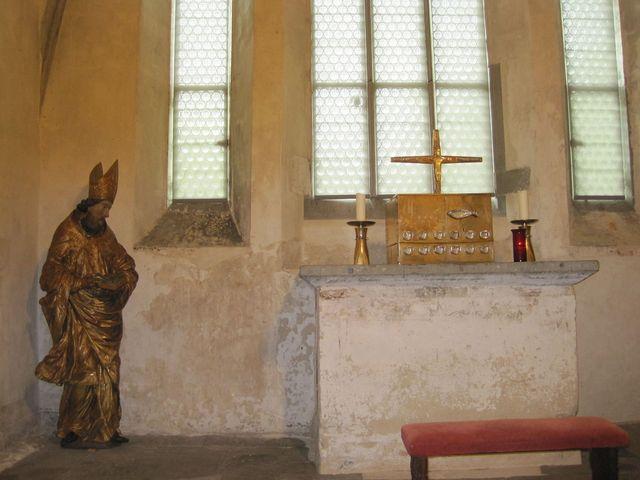 kaple sv. Markéty je přibližně z roku 1000