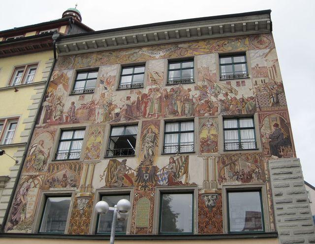 dům Zum Hohen Hafen na náměstí Obermarkt