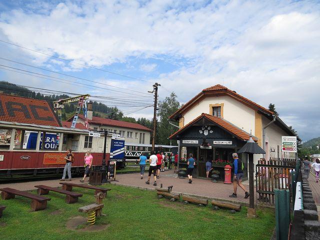 železniční muzeum v Černém Balogu; www.svatosi.cz