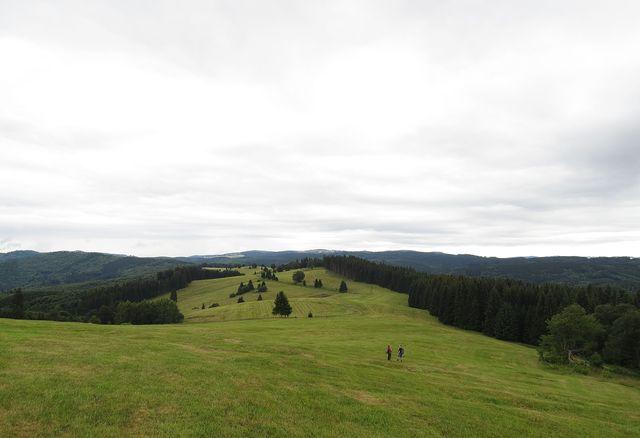 Zákľuky - kruhový výhled na výše jmenovaná pohoří
