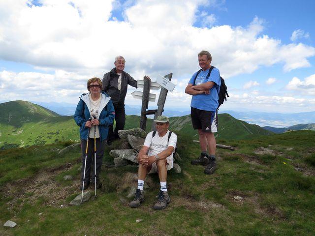 na vrcholu Skalky
