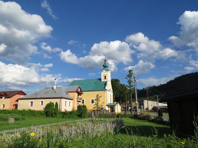 centrum Pohronské Polhory