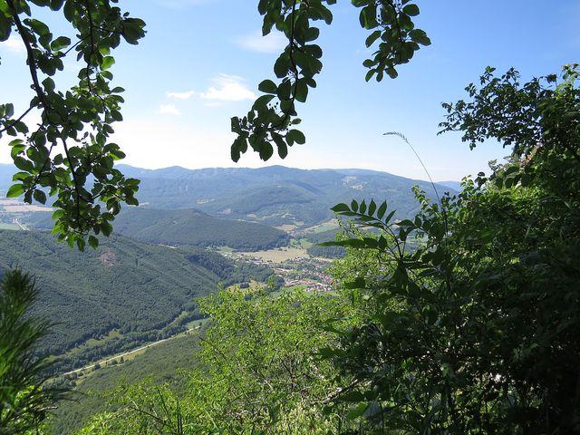 výhled na obec Muráň