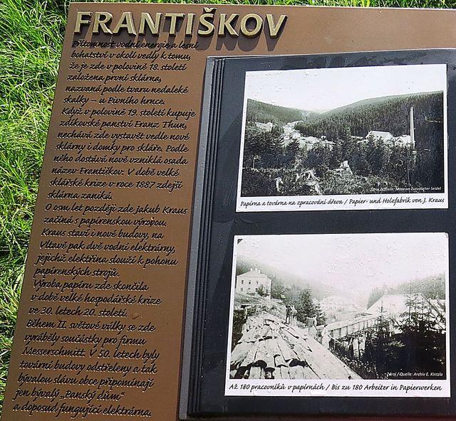 informace o bývalém Františkově