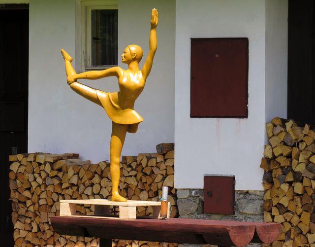 nová socha na Horské Kvildě