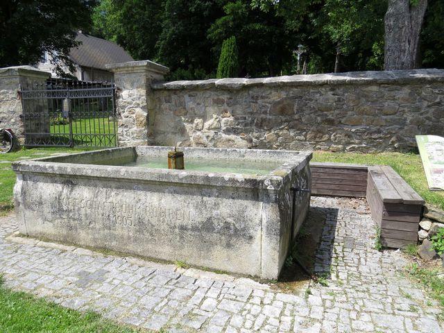žlab v Českých Žlebech