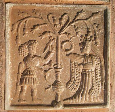 kachle s náboženskými a historickými motivy byly specialitou na území českého království