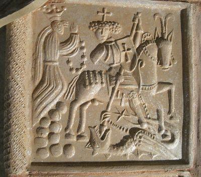 sv. Jiří zabíjí draka