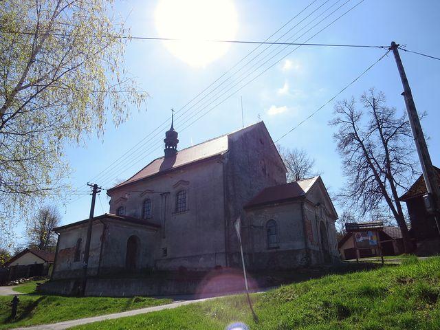 kostel sv. Anny potřebuje opravu
