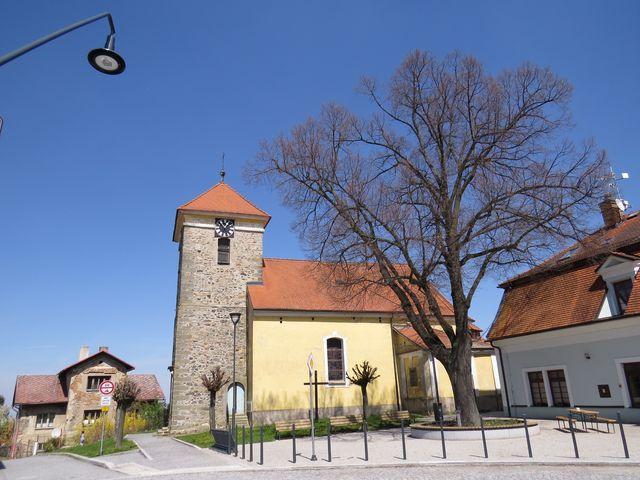 kostel sv. Jiljí v Nasavrkách