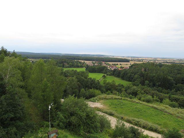 výhled na hřeben Železných hor