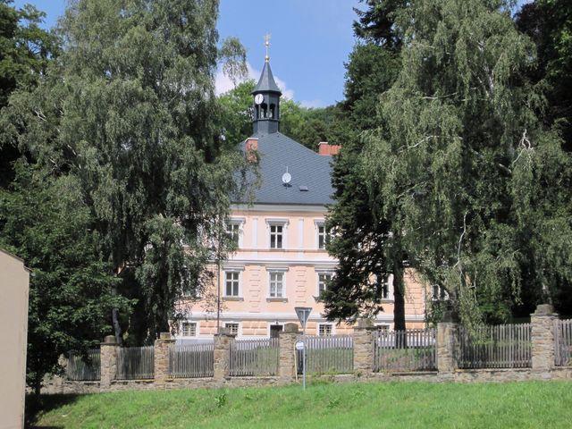 zámek ve Štěpánově