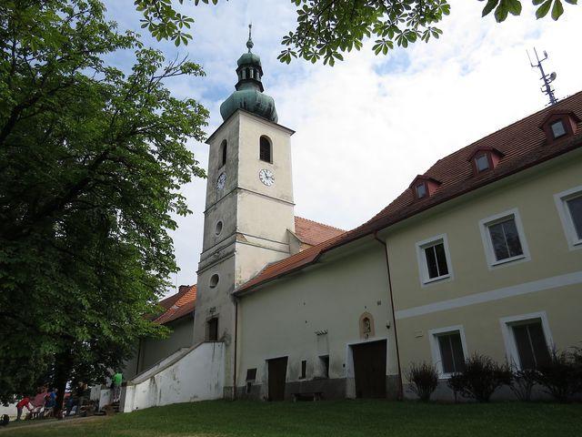 kostel sv. Jana Nepomuckého ve Svatém Janu nad Malší